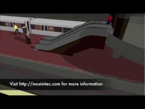 Tenleytown-AU Public Transit Simulation by MOSIMTEC