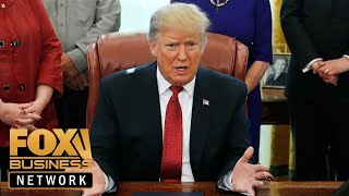Trump talks unemployment, tax cuts during roundtable