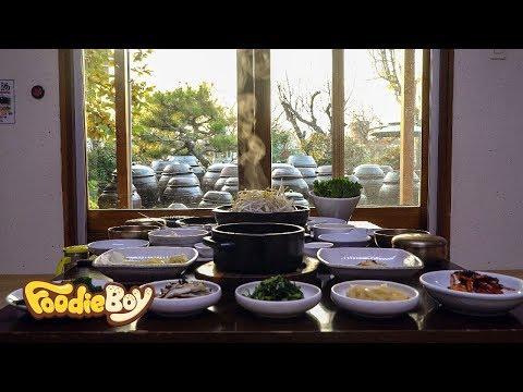 Korean Table d'hote / Korean Traditional Restaurant / Damyang Korea