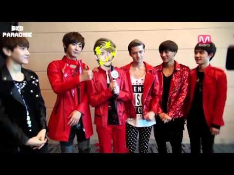 [Thaisub] 121222 JJANG! MAMA Backstage, Interview EXO-K Cut {EXOPARADISE}