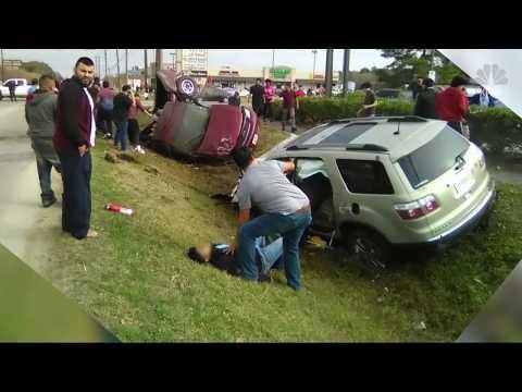 Just For Laughs Fake Car Crash