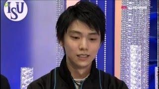 2015 NHK MEN SP Yuzuru HANYU JPN  [P. ESP with eng sub]
