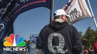 Some Conspiracy Theorists Lose Hope After Biden Inauguration | NBC News NOW