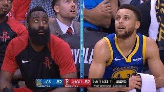 GS Warriors vs Houston Rockets - Game 6 - Full 4th Qtr   2019 NBA Playoffs