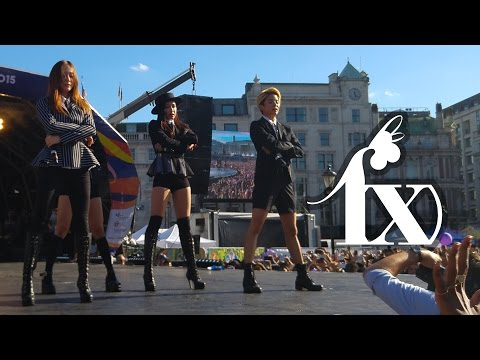 150809 f(x) @ London Korean Festival 2015 ALL 4 SONGS [HD]
