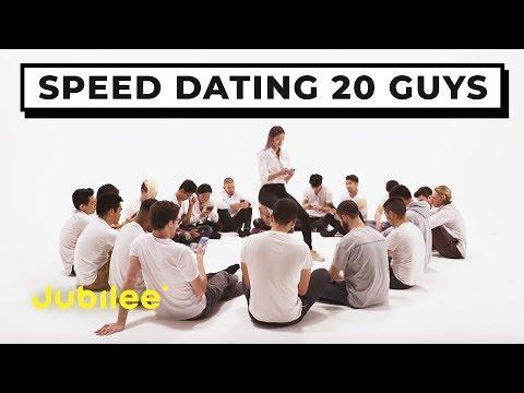 20 vs 1: Speed Dating 20 Guys | Jubilee x Solfa