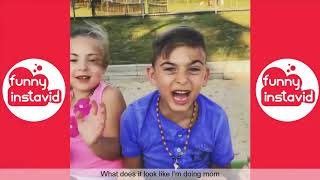 TRY NOT TO LAUGH WHILE WATCHING FUNNY KIDS VIDEOS COMPILATION 2018