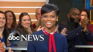 Breakout star Letitia Wright opens up about 'Black Panther'
