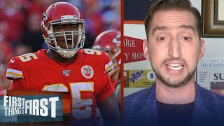 Bringing back Chris Jones is a massive deal for Chiefs — Nick Wright | NFL | FIRST THINGS FIRST