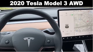 2020 Tesla Model 3 Long Range Overview and Touchless Delivery
