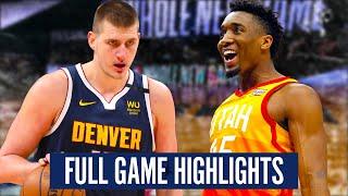 UTAH JAZZ at DENVER NUGGETS - FULL GAME HIGHLIGHTS | 2019-20 NBA Season