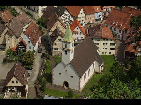 In Haigerloch - 140 Stufen zum Schloss