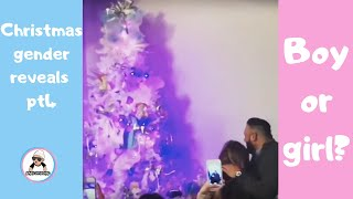 2018 Christmas Gender Reveal Ideas Compilation / Pregnancy announcement