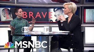 Activist Rose McGowan On Her Book 'Brave': My Message Is One Of Optimism   Morning Joe   MSNBC