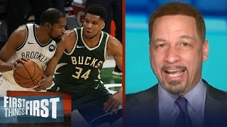With all respect to the Bucks, the Nets don't fear them — Chris Broussard | NBA | FIRST THINGS FIRST