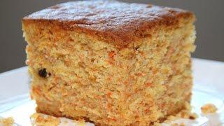 carrot cake recipe/soft & moist -- Cooking A Dream
