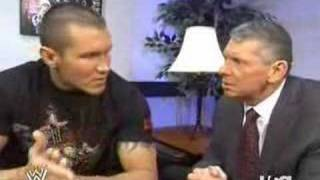 Randy Orton's Segment With Vince [raw 1/21/08]