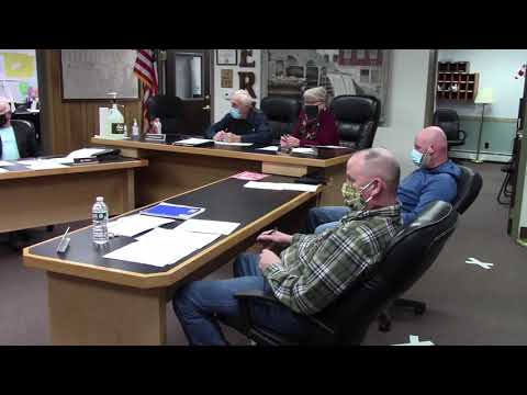 Peru Town Board Meeting  3-8-21