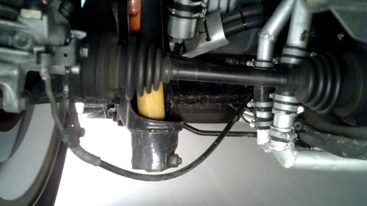 Rear Suspension Of A 1973 Vw Beetle In Action Youtube