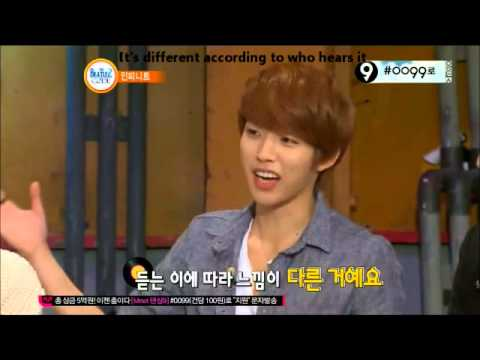 [ENG] 130408 Infinite Interprets Dongwoo's Paradise Rap