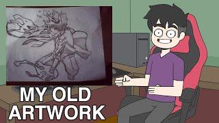 KWENTONG ANIMATOR PART 2 REVEALING MY OLD DRAWINGS 10 YRS AGO