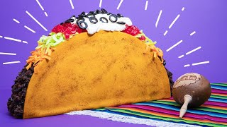 Giant Taco CAKE! | How To Cake It