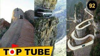 Nhìn Đã  Rủn Hết Háng - Top 10 con đường nguy hiểm nhất trên thế giới [Top tube 92]