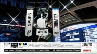 Derrick White   NBA Draft Announcement