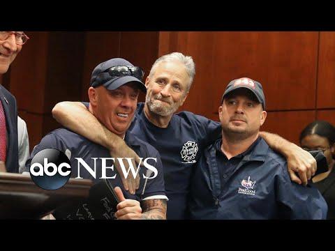 Senate passes 9/11 bill pushed by Jon Stewart