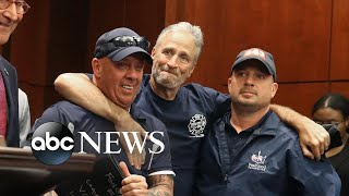 Senate passes 9/11 bill pushed by Jon Stewart