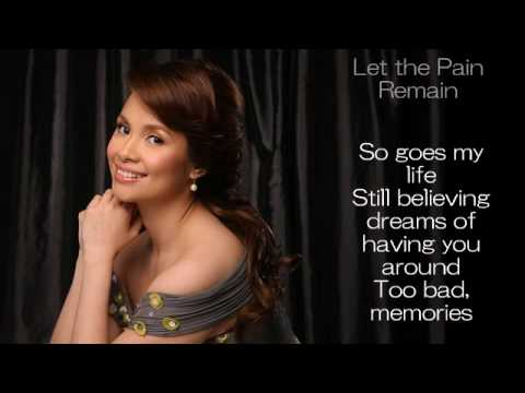 Let the Pain Remain by Lea Salonga