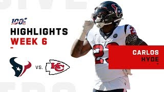 Carlos Hyde Barrels Down for 116 Yds & 1 TD | NFL 2019 Highlights