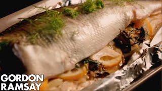 Seabass With Fennel, Lemon & Capers - Gordon Ramsay