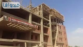 بالفيديو: محافظ القليوبية ورئيس جامعة بنها يتفقدان مبنى التربية ...