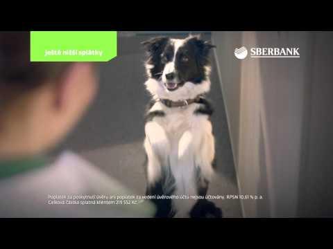 SBERBANK CZ – reklamní spot – půjčky – duben 2016