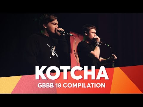 KOTCHA | Grand Beatbox Battle 2018 Compilation