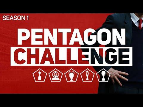 PENTAGON CHALLENGE - FOOTBALL MANAGER 2020 #1