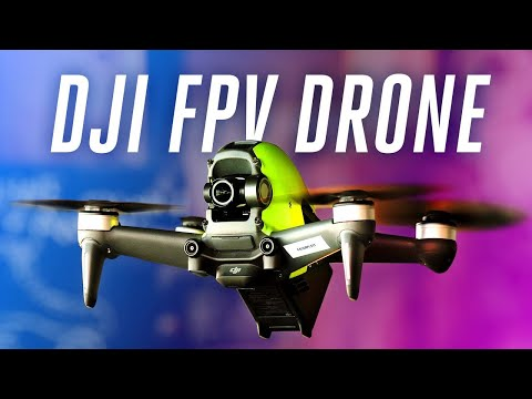 DJI FPV drone review: fast and furious