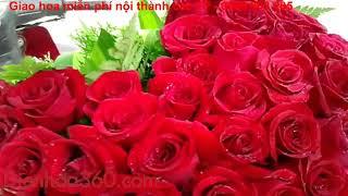 Quà tặng 20-10 độc đáo, điện hoa 20-10, giỏ hoa hình tim đẹp, hoa tươi quà tặng độc đáo