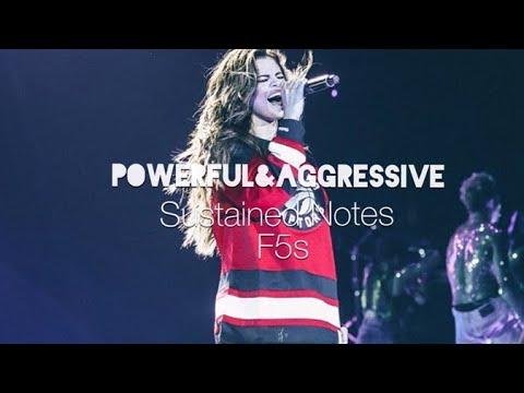 Selena Gomez POWERFUL&AGGRESSIVE Vocals