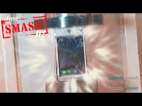 Just SMASH It! Episode 4 - iPhone & iPad Bend Test GONE WRONG