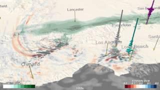 Magnitude 7.8 Earthquake Simulation on the San Andreas Fault
