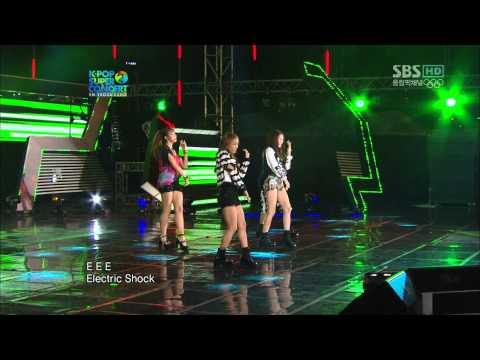 【1080P】 f(x)- Electric Shock (9 Aug,2012)