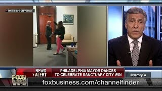 Lou Barletta on Phila's Kenney Dancing for Sanctuary City
