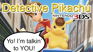 Detective Pikachu GAMEPLAY! - The Weirdest Pokemon Game Ever?