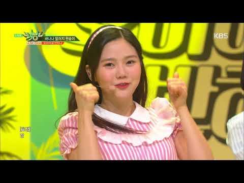 뮤직뱅크 Music Bank - 바나나 알러지 원숭이 - 오마이걸 반하나 (Banana allergy monkey - OH MY GIRL BANHANA).20180406