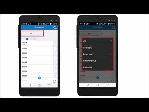 Mobile Asset Reservations - BarCloud App