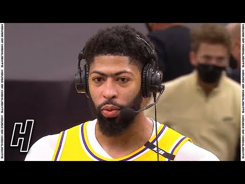 Anthony Davis Postgame Interview - Game 2 - Lakers vs Suns | 2021 NBA Playoffs