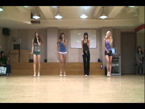 씨스타(SISTAR) - 가식걸 안무연습영상(Shady girl practice)