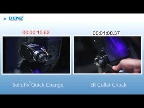 BENZ Solidfix Quick Change vs ER Collet Tool Change
